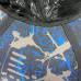Тюбинг  CH-105-ГЛАМУР-Граффити черный-синий,с камерой д=95см