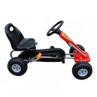 Педальная машина  ST00002-GN зеленый пласт. колеса ,89*52*51см