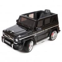 Электромобиль детский Mercedes-Benz G63 черный глянец  HL168