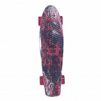 Скейтборд  Explore Ecoline REBEL/6 красный ОГОНЬ колес красн