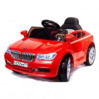 Электромобиль детский BMW 48663 седан красный