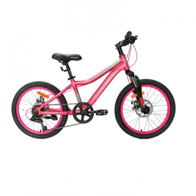 Велосипед 20 Nameless S2200DW-PN/GR-12  розовый/серый 12