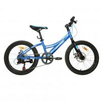 Велосипед 20 Nameless S2300D-BL/WT-11, синий/белый (АКЦИЯ!!!)