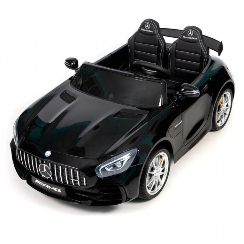 Электромобиль детский Mercedes-Benz AMG GT R 45496 (Р) двухместный (Лицензионная модель)  черный глянец