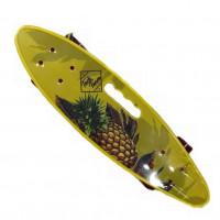 Скейтборд  ТТ Fishboard 23  print (mini) yellow 1/4 TLS-406