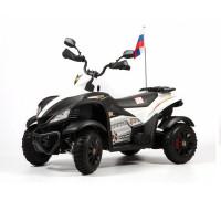 Электроквадроцикл детский CROSS 45391 (Р) бело-черный