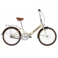 Велосипед 24 Novatrack FAURORA3N.BE20 3ск. складной бежевый