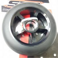 Колесо 110мм PU X71239 для трюковых самокатов алюм. обод 1шт
