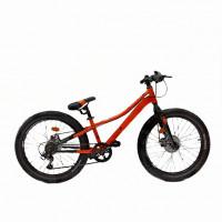 Велосипед 24 Novatrack SHD.DOZERSTD.12OR21 оранжевый