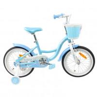 Велосипед 20 TT Merlin голубой (АЛЮМИНИЙ-облегчённая рама)