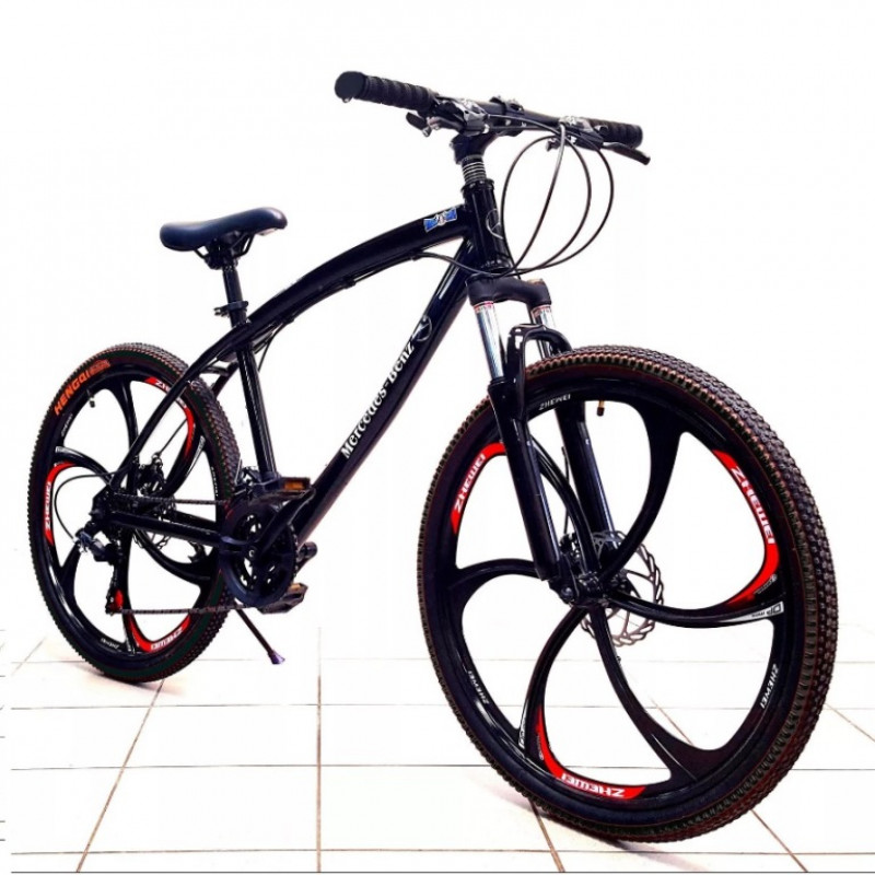 Велосипед 26  Лит. диски чёрный НЕ СКЛАДНОЙ