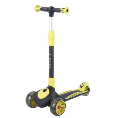 Детский самокат TT Buggy цвет: желта-чёрный 2021 1/4