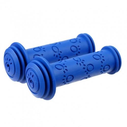 Грипсы  XH-G05,  113мм синие