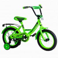Велосипед 12 Nameless Vector, зеленый/черный