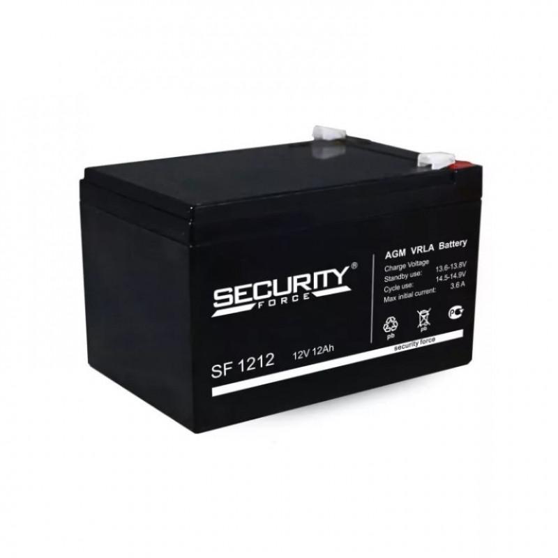 Аккумулятор 12V-12AH 1212 Security Force