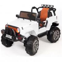 Электро мобиль детский Jeep 47083 (Р) белый полный привод