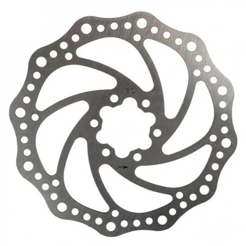 Ротор/диск тормозной Feilaier F6 160 mm, на 6 болтов BR-F6-180