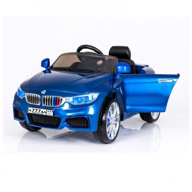 Электромобиль детский BMW X3 45543 (Р) синий глянец