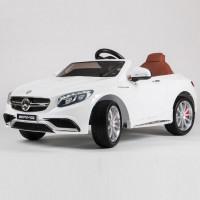 Электромобиль детский Mercedes-Benz S63 AMG 45481 (Р) белый