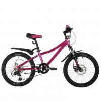 Велосипед 20 Novatrack AH6D.KATRINA.GPN21 6ск. розовый АКЦИЯ!!!
