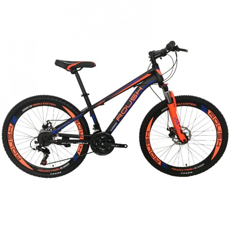 Велосипед 26 Roush 26MD200-1 синий/оранжевый матовый