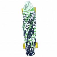 Скейтборд  Explore Ecoline REBEL/6 зеленый Расер колесо желтые