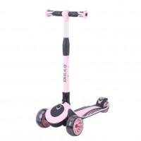 Детский самокат Tech Team Buggy цвет: розово-черный 2021 1/4