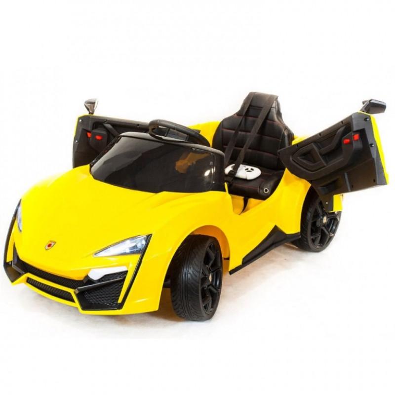 Электромобиль детский Lykan 50515 (Р) жёлтый