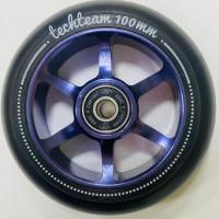 Колесо 100мм X-Treme  для самоката,форма 6S фиолетовый
