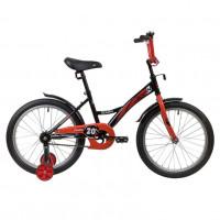 Велосипед 20 Novatrack Strike.BKR20 чёрный-красный