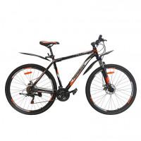 Вело. 29  Nameless J9500D-BK/OR-21(21), черный/оранжевый