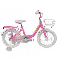Велосипед 20  Tech Team Milena тёмно-розовая (алюминий), корзина