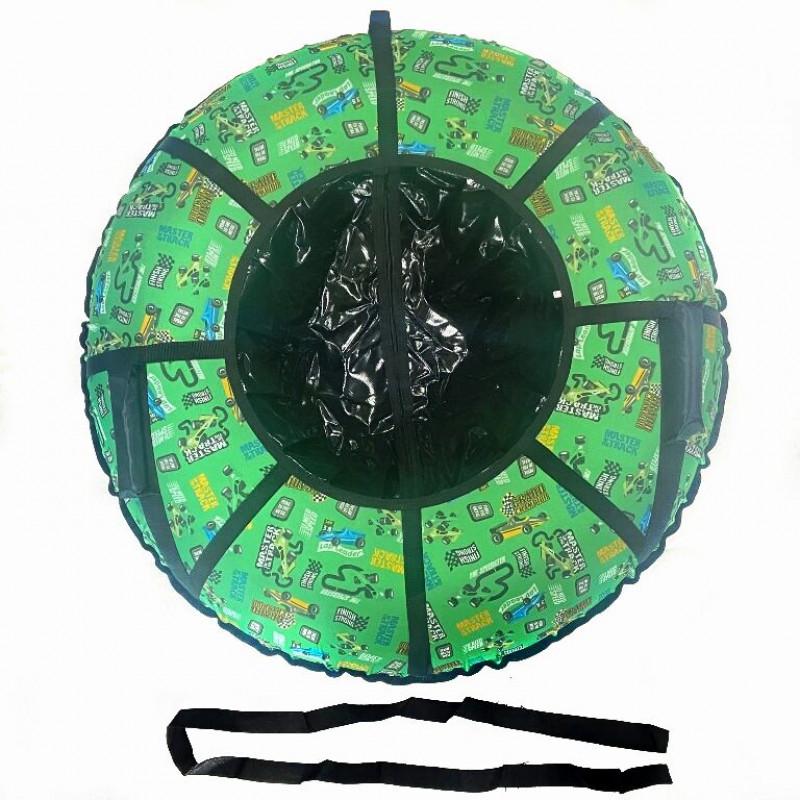 Тюбинг  CH-105-ГЛАМУР-Формула зеленый в черном