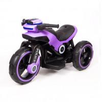 Электромотоцикл детский Y- MAXI Police 45564 (Р) фиолетовый
