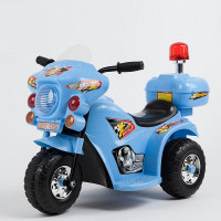 Электромотоцикл детский TR 998 синий.  6v.4Ah  80*37*53