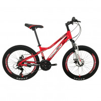 Велосипед 24 Roush 24MD220-2 красный матовый