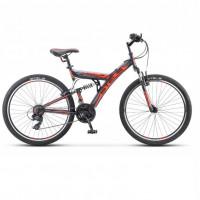 Велосипед 26  Stels Fokus V030  18ск. тёмно-синий/оранжевый (2021)