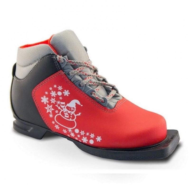 Ботинки лыжные  36р. 75мм Marax M 350 крас.