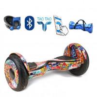 Гироскутер 10,5  Smart Balance SUV Оранжевый Хип хоп Premium PRO + Самобаланс + TaoTao Whell new
