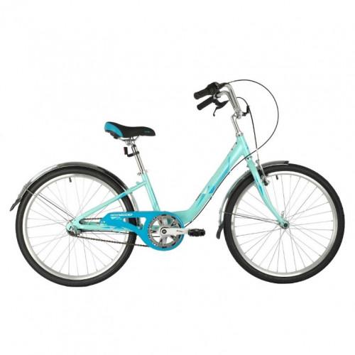 Велосипед 24 Novatrack AH3V.ANCONA.12GN20 3-ск. зелёный