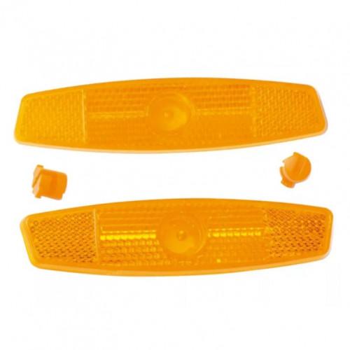 Катафот НТ20 н-р (передний+задний) 2 шт оранжевый