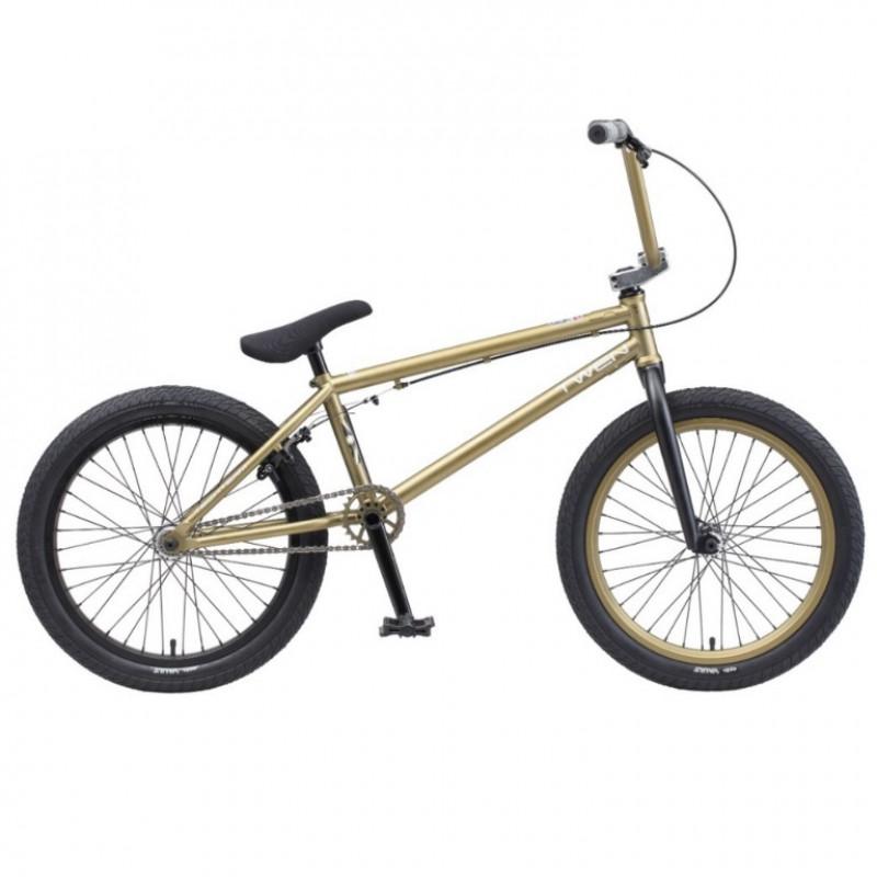 Велосипед трюкавой 20 BMX TT TWEN 2020 зеленый (Cr-Mo) хром-молибден