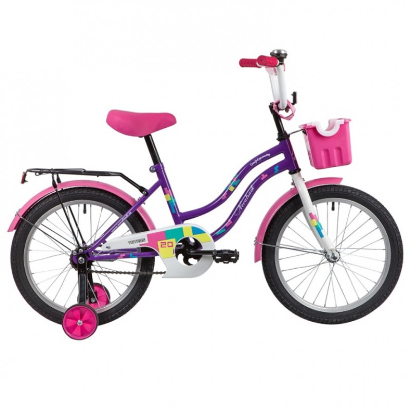 Велосипед 20 Novatrack Tetris.VL20  фиолетовый