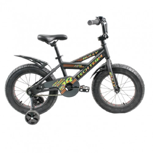 Велосипед 18 Fat bike TT BULLY  Black (P)