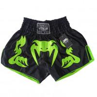 Шорты ММА VENUM  черно-зеленый XL