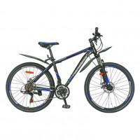 Велосипед 26 Nameless S6400D-BK/BL-19(21) чёрный/синий