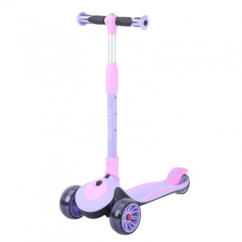 Детский самокат TT Buggy цвет: фиолетовый 2021 1/4