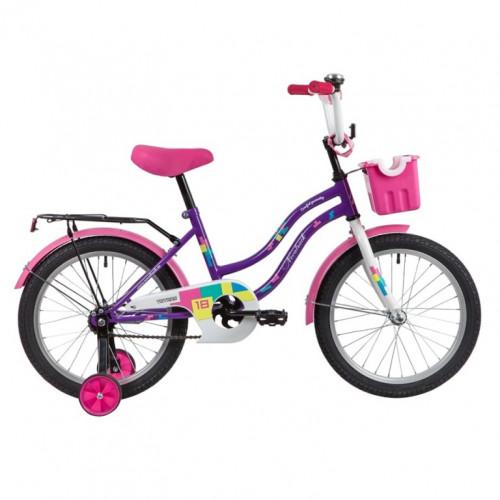 Велосипед 18  Новатрек TETRIS.VL20  фиолет.нож/т