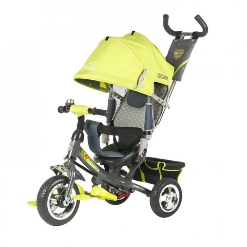 Детский 3-х колёсный велосипед TT 950 D салатовый 1/2