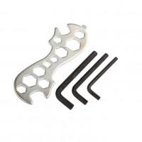 Набор велоинструментов 3 шестигр+ключ комбин.